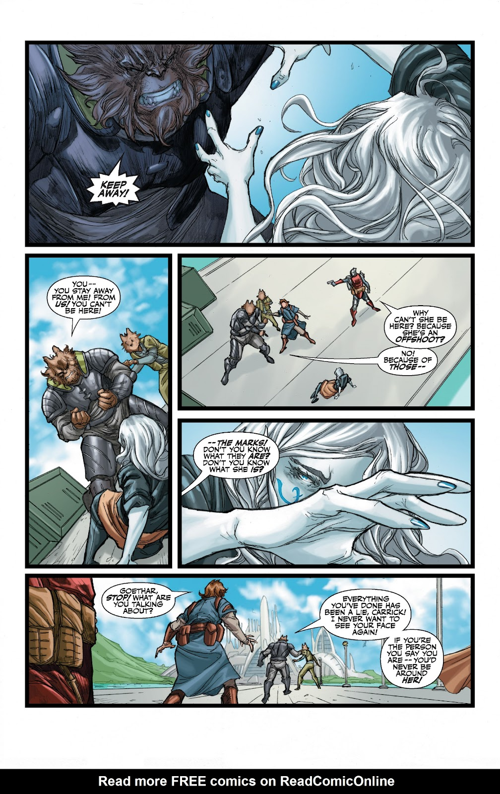 Read online Star Wars Legends: The Old Republic - Epic Collection comic -  Issue # TPB 3 (Part 1) - 94