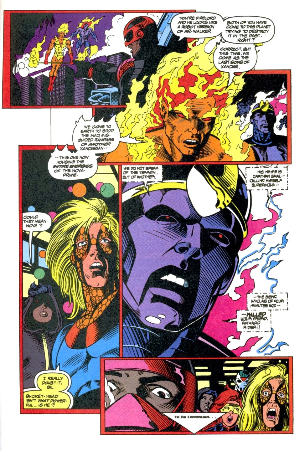 The New Warriors Issue #40 #44 - English 23