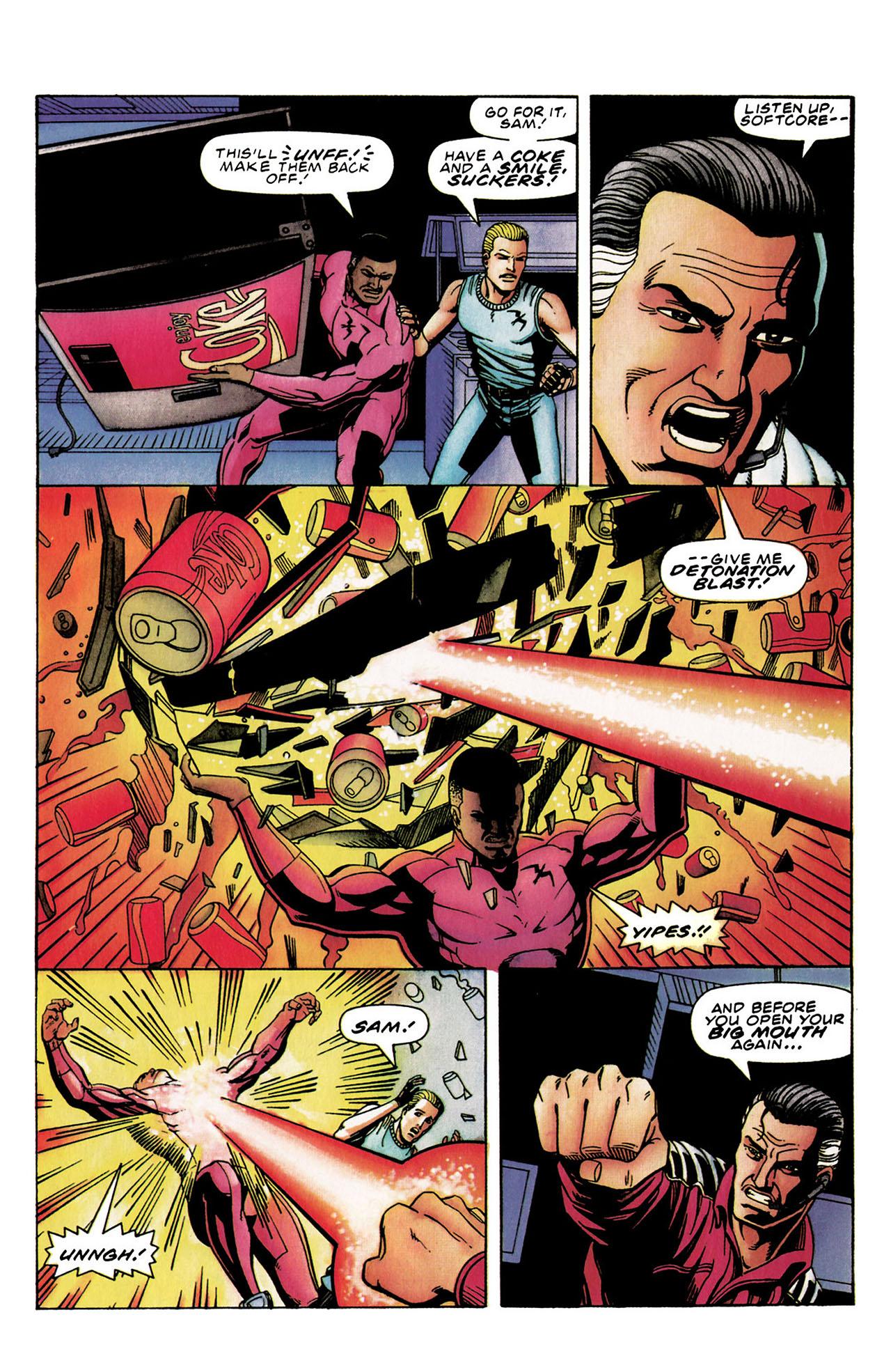 Read online Harbinger (1992) comic -  Issue #30 - 19