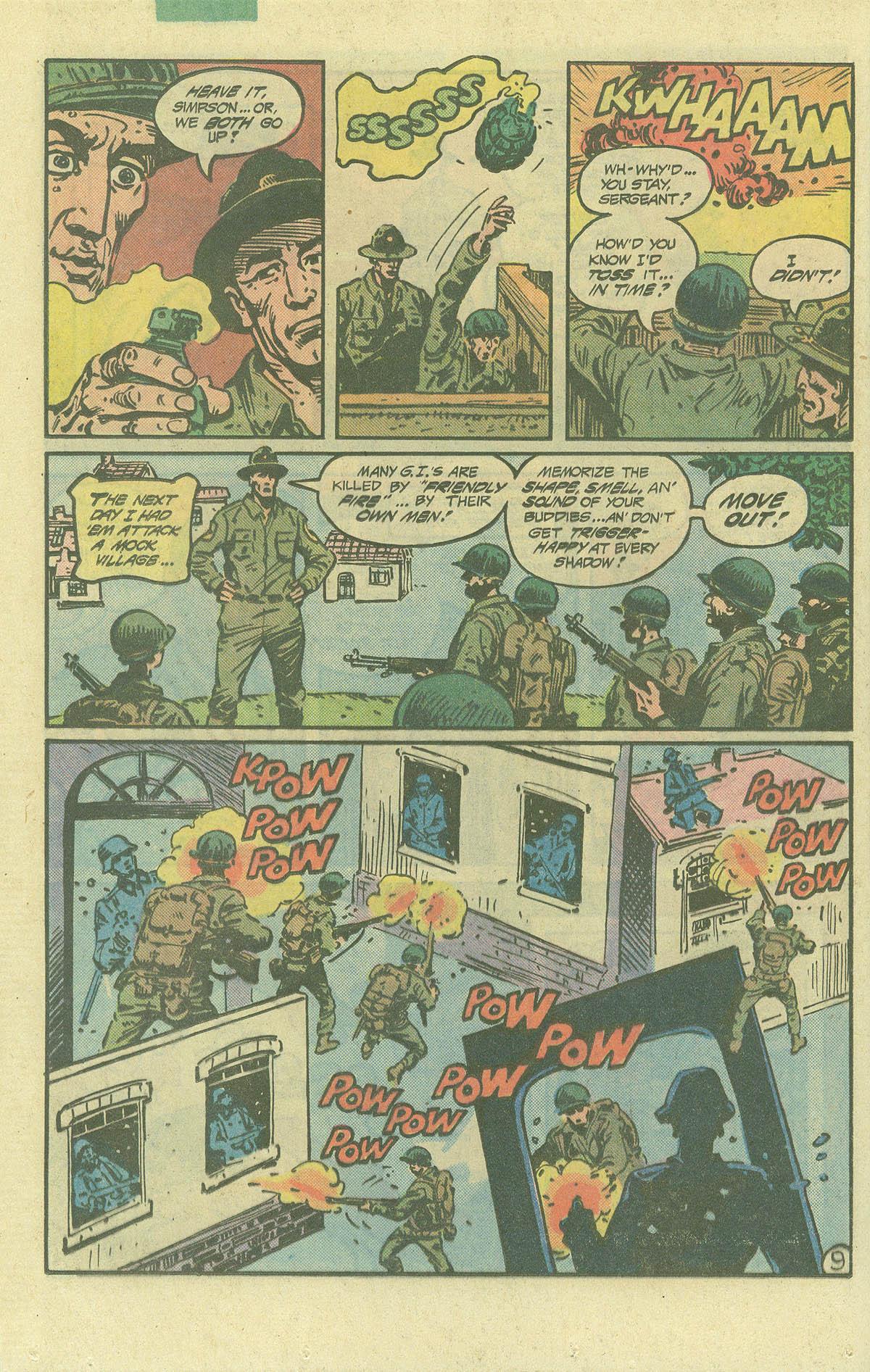 Read online Sgt. Rock comic -  Issue #392 - 9