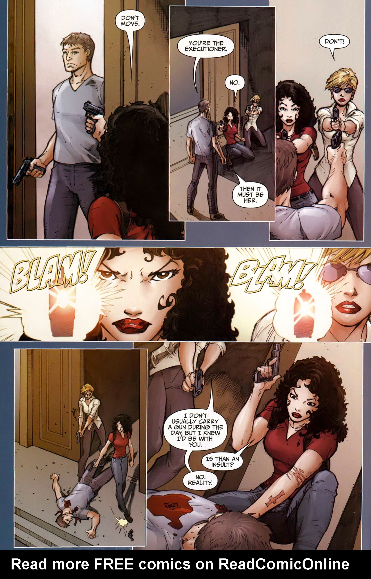 Read online Anita Blake, Vampire Hunter: Guilty Pleasures comic -  Issue #9 - 6