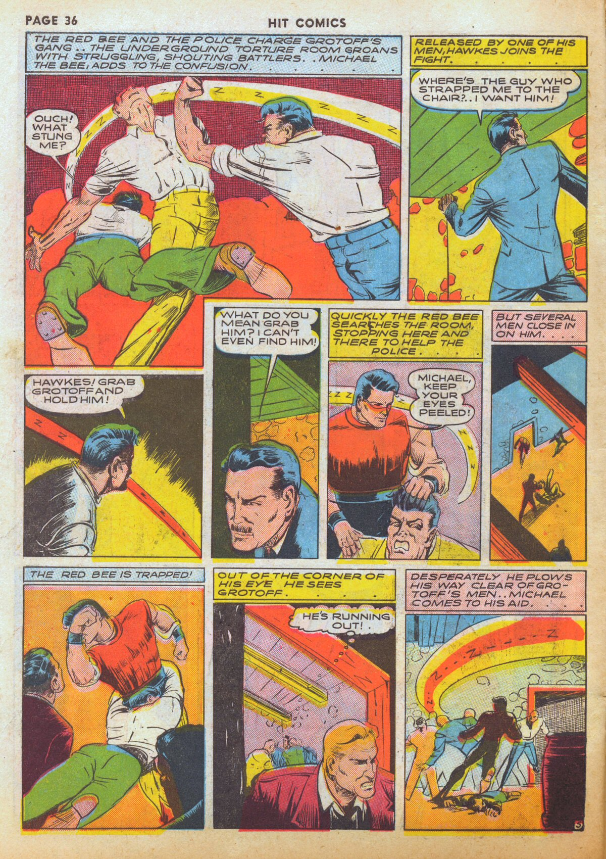 Read online Hit Comics comic -  Issue #12 - 38