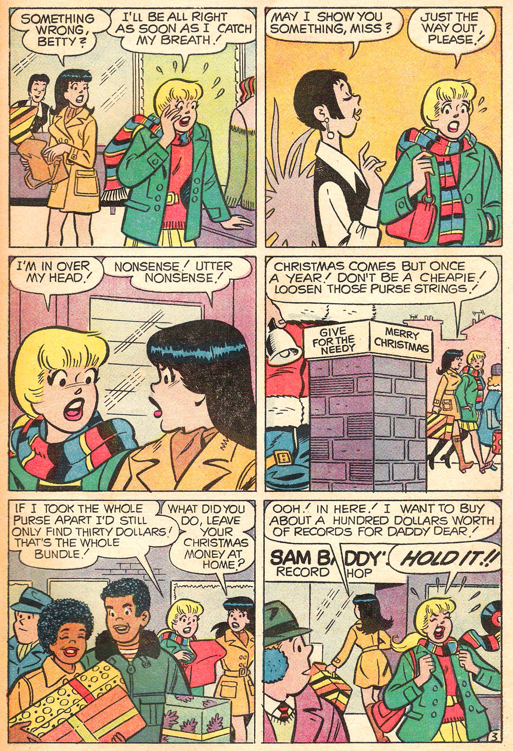 Read online Archie's Girls Betty and Veronica comic -  Issue #169 - 31