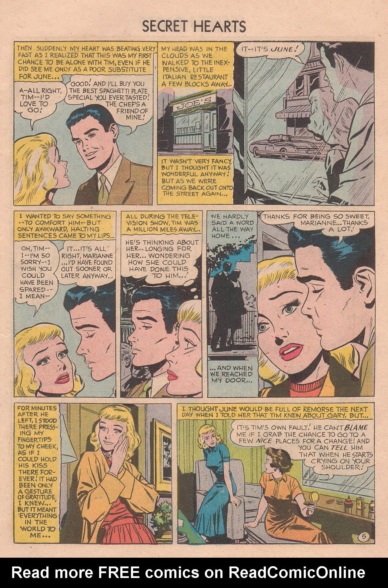 Read online Secret Hearts comic -  Issue #39 - 7