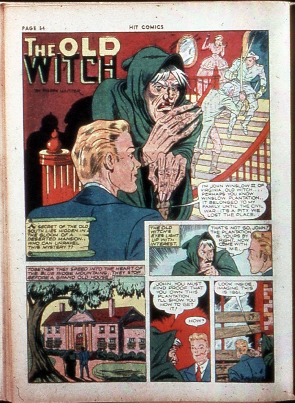 Read online Hit Comics comic -  Issue #14 - 56