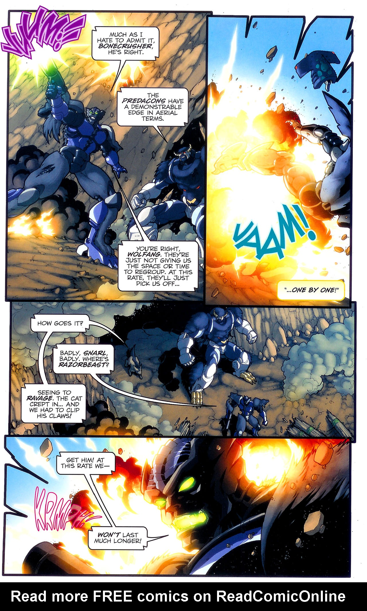 Read online Transformers: Beast Wars: The Ascending comic -  Issue #2 - 6
