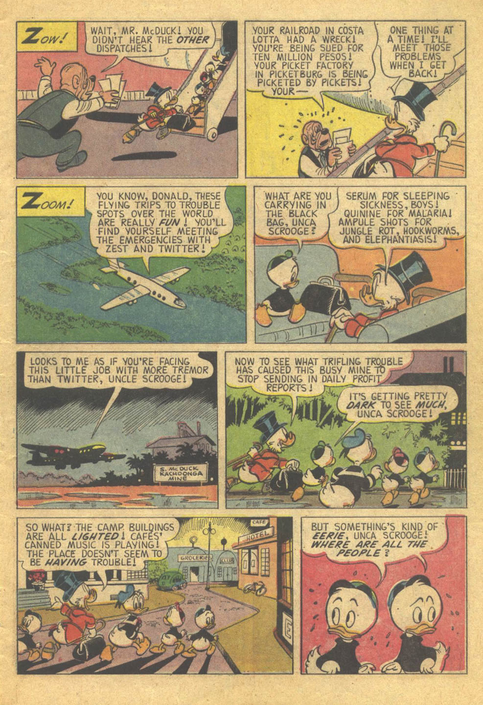 Read online Uncle Scrooge (1953) comic -  Issue #73 - 5