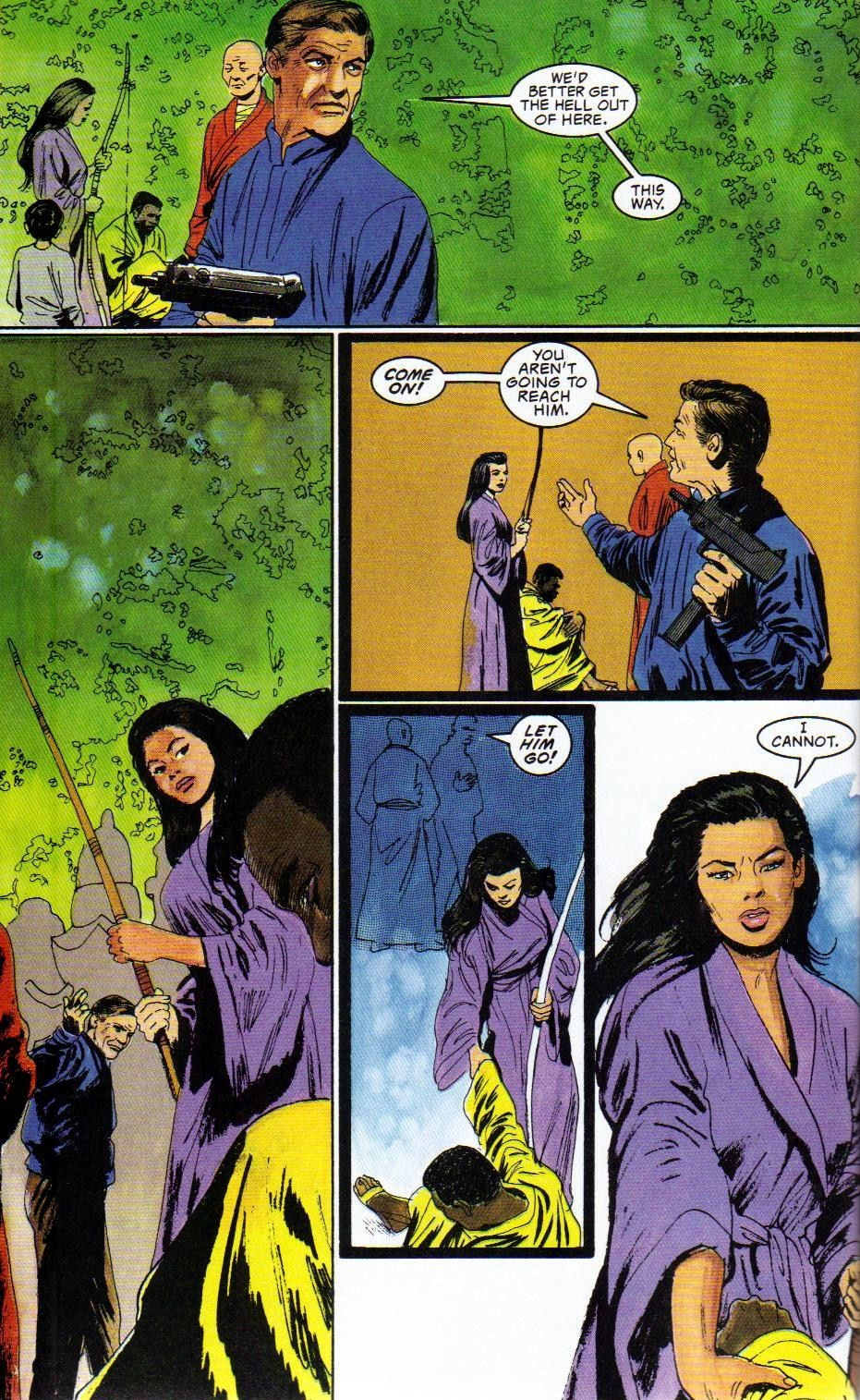 Read online Shado: Song of the Dragon comic -  Issue #3 - 8
