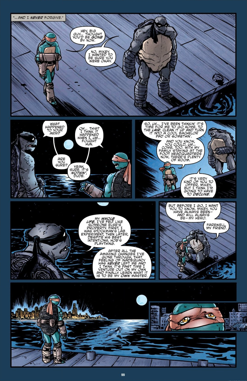 Read online Teenage Mutant Ninja Turtles: The IDW Collection comic -  Issue # TPB 7 (Part 1) - 97