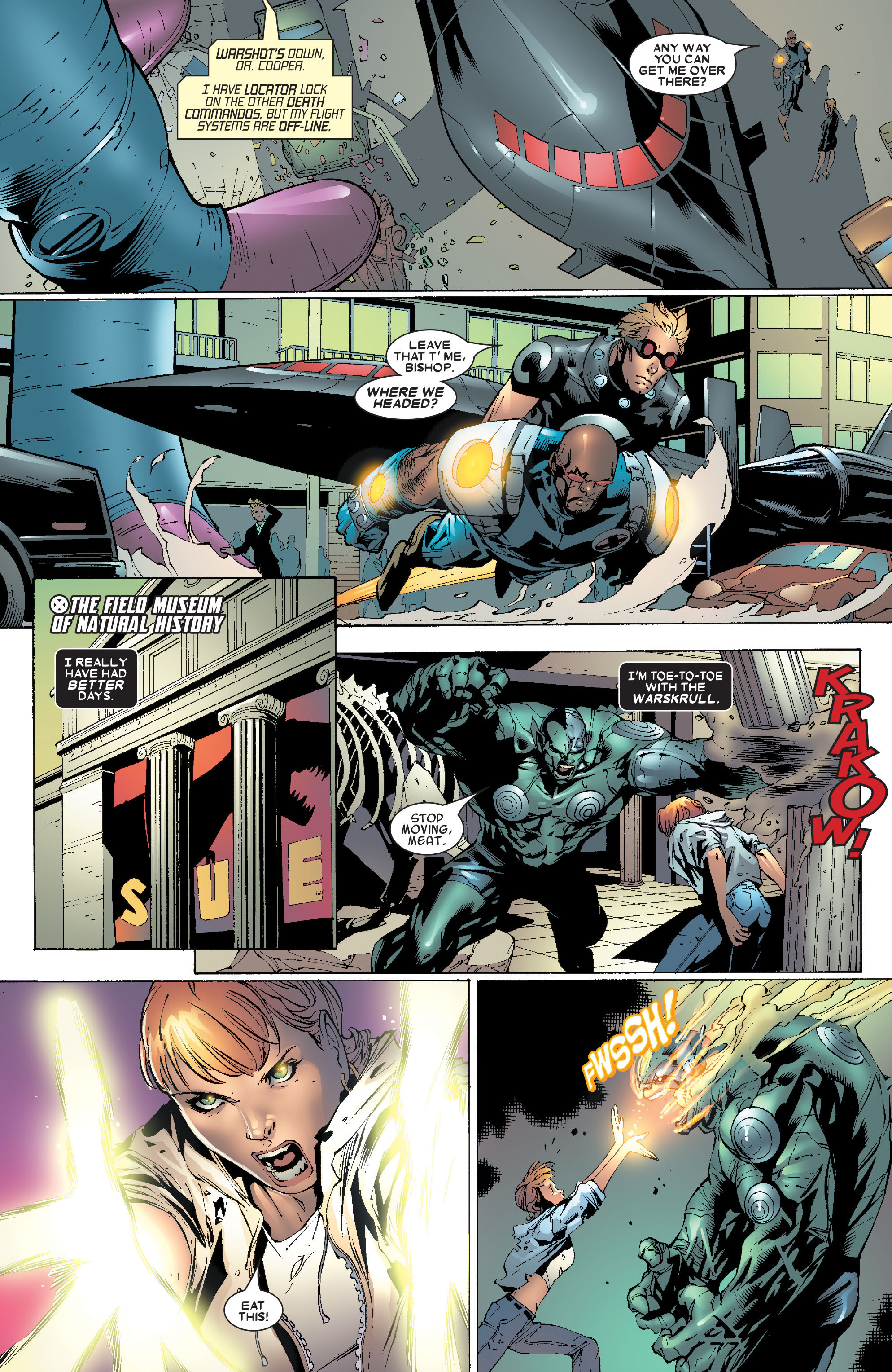Read online Uncanny X-Men (1963) comic -  Issue #471 - 16