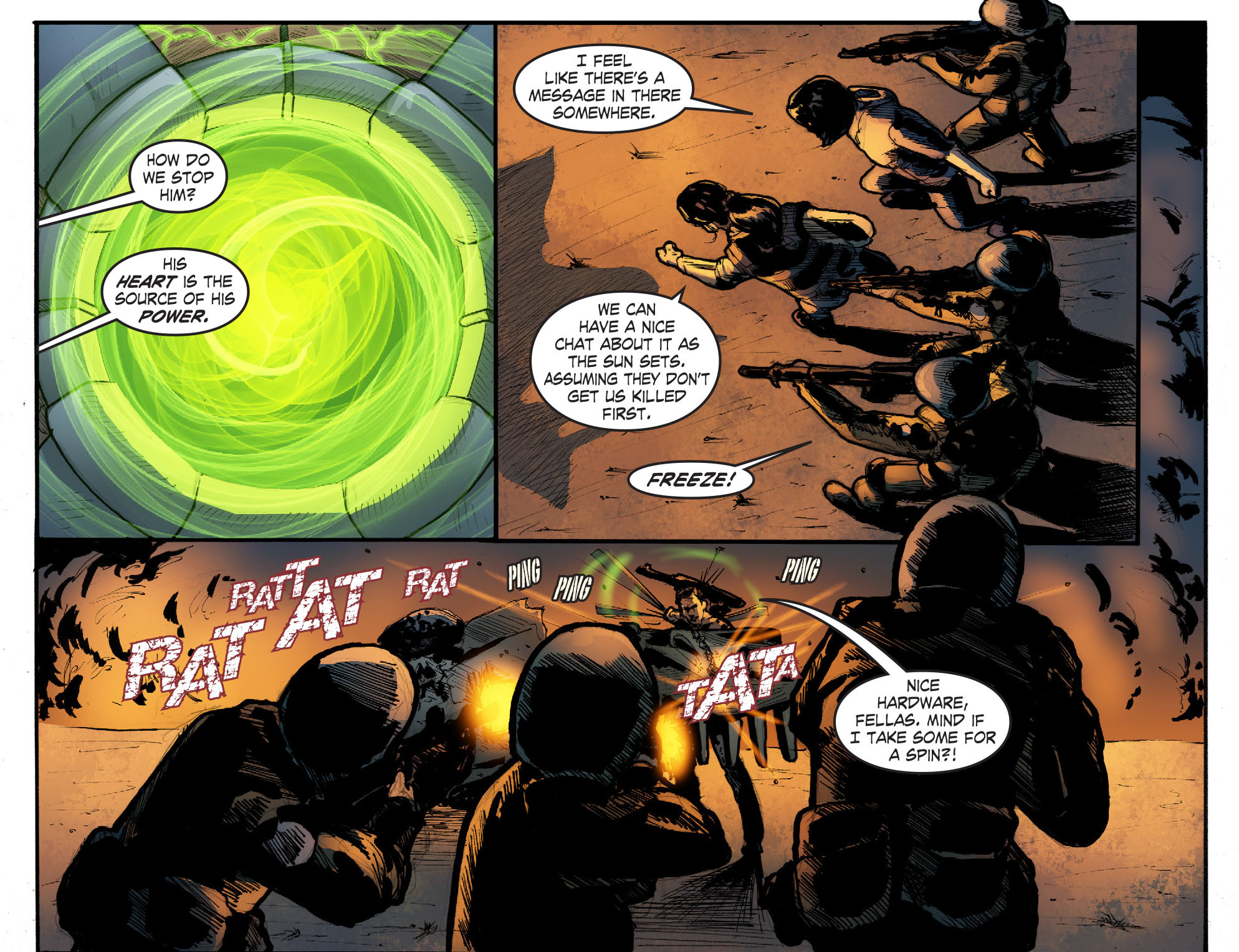 Read online Smallville: Season 11 comic -  Issue #50 - 10