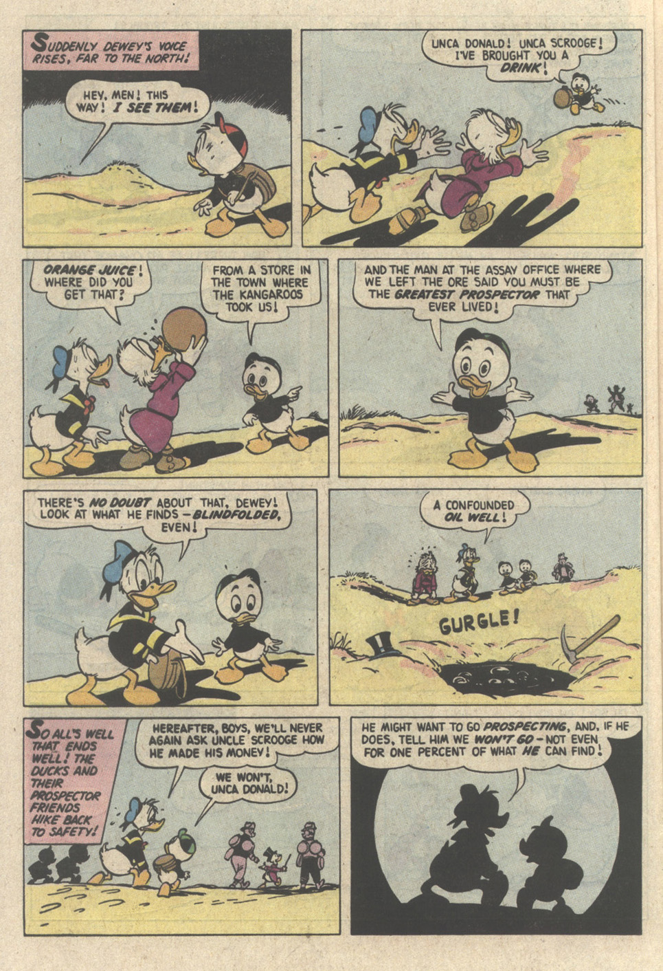 Read online Uncle Scrooge (1953) comic -  Issue #237 - 20