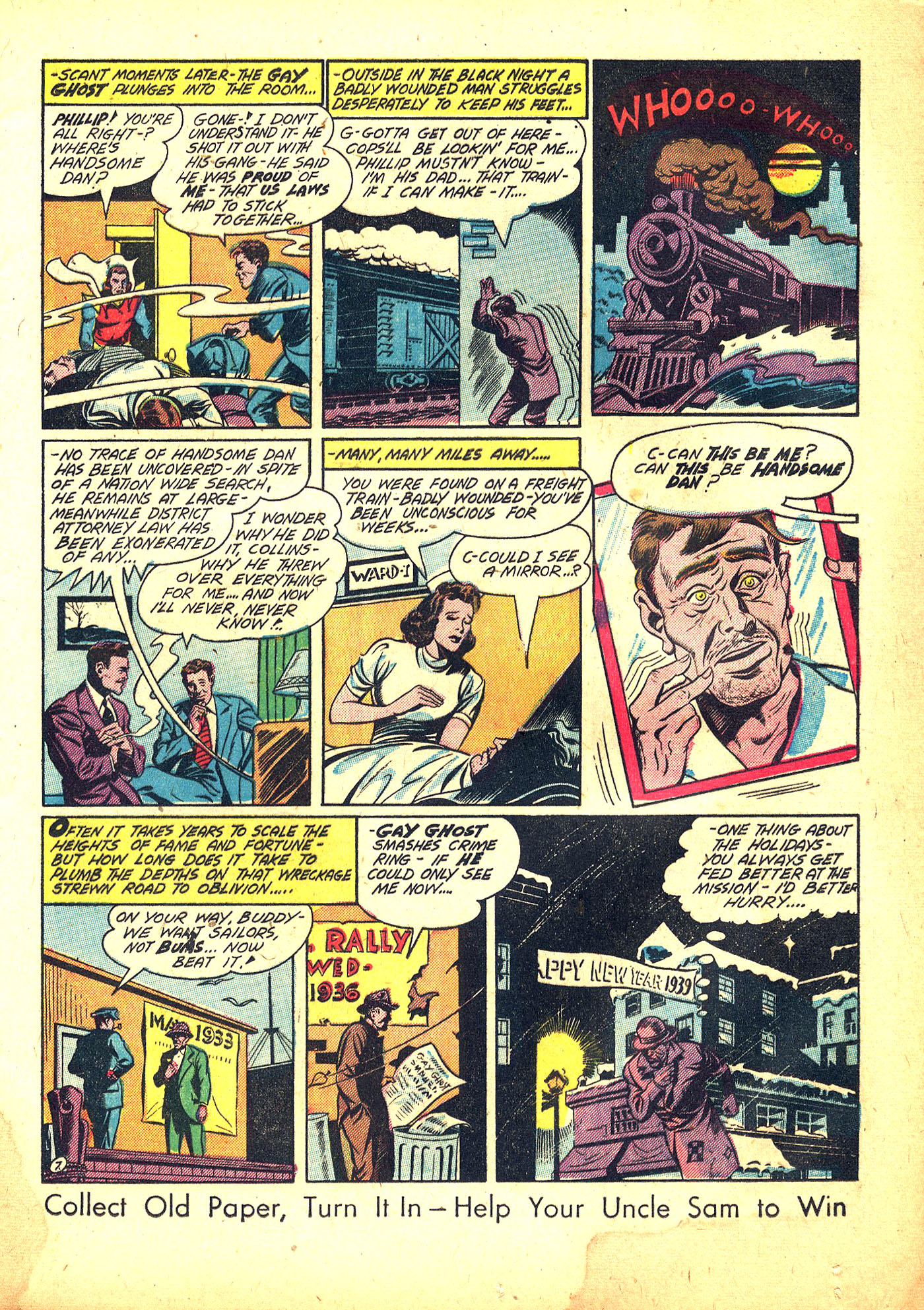 Read online Sensation (Mystery) Comics comic -  Issue #31 - 23