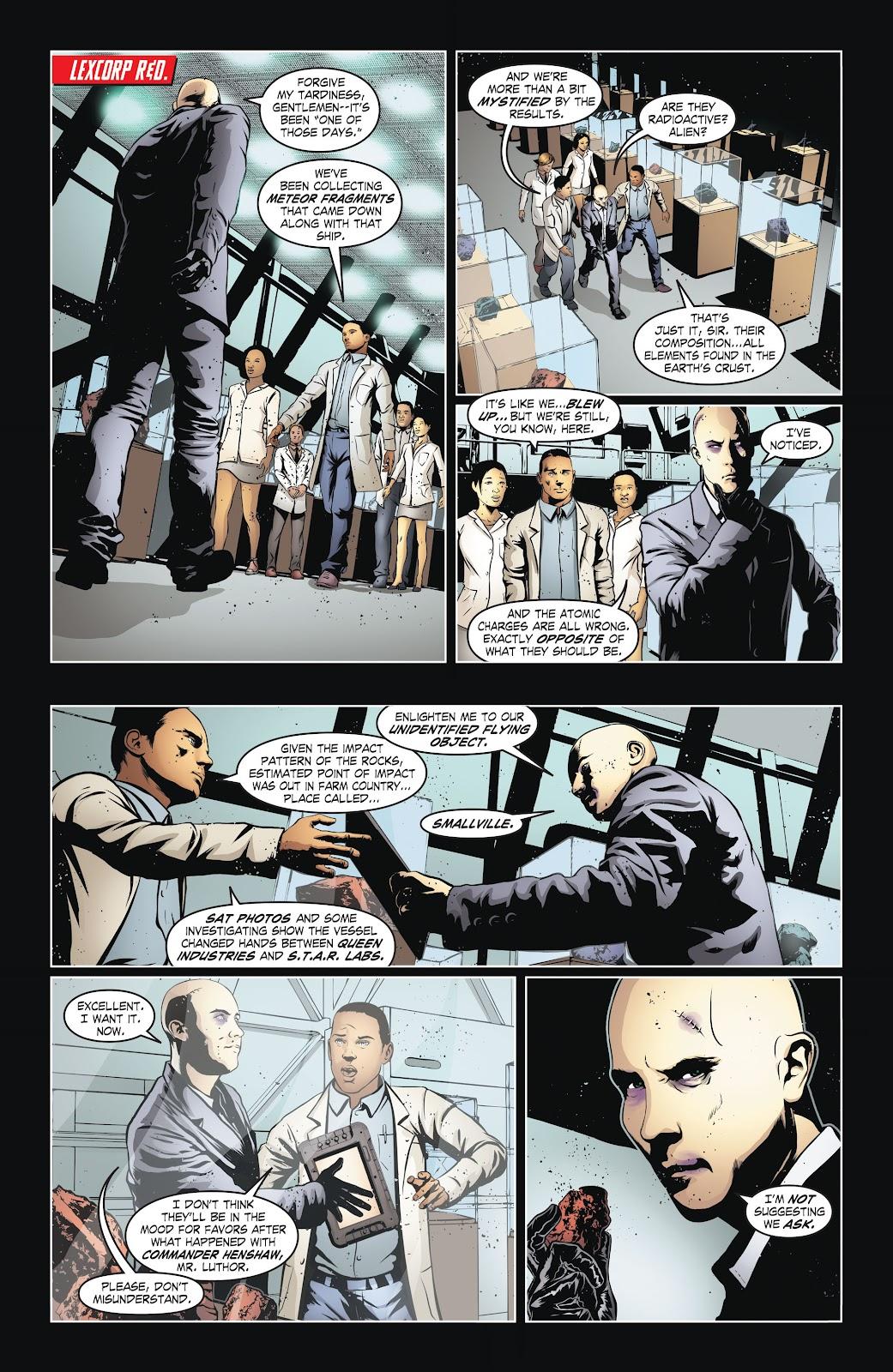 Read online Smallville Season 11 [II] comic -  Issue # TPB 6 - 26