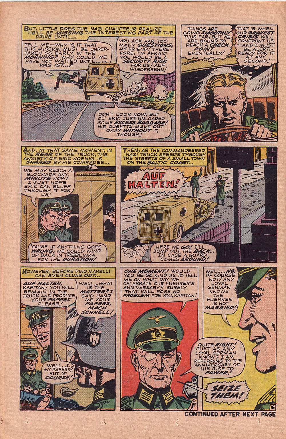 Read online Sgt. Fury comic -  Issue #52 - 22