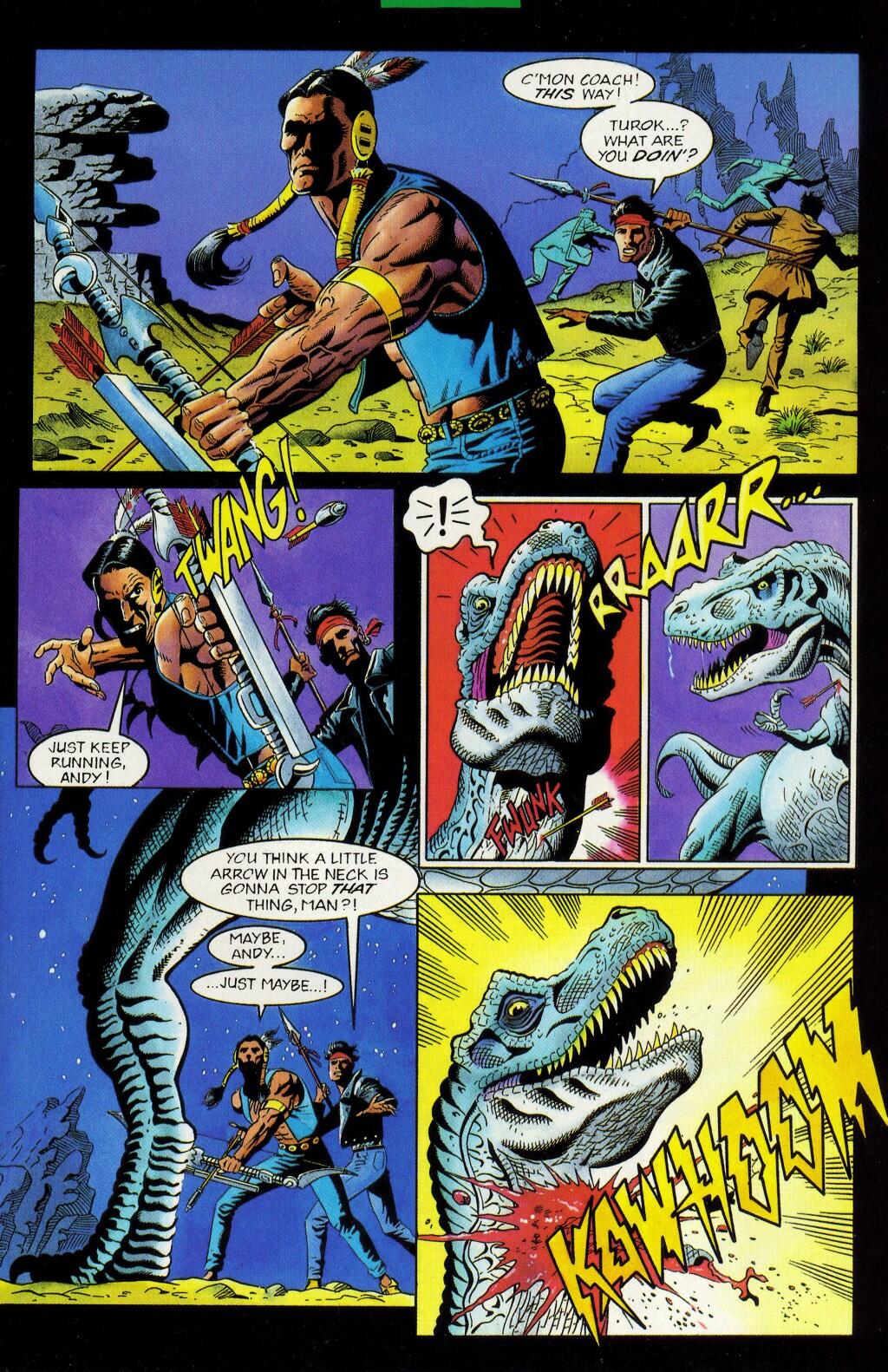 Read online Turok, Dinosaur Hunter (1993) comic -  Issue #33 - 4