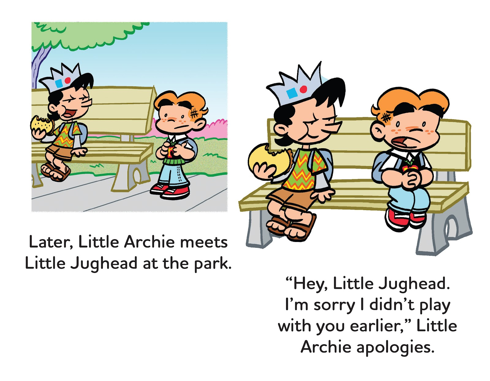 Read online Little Archie's Lucky Day comic -  Issue # Full - 28