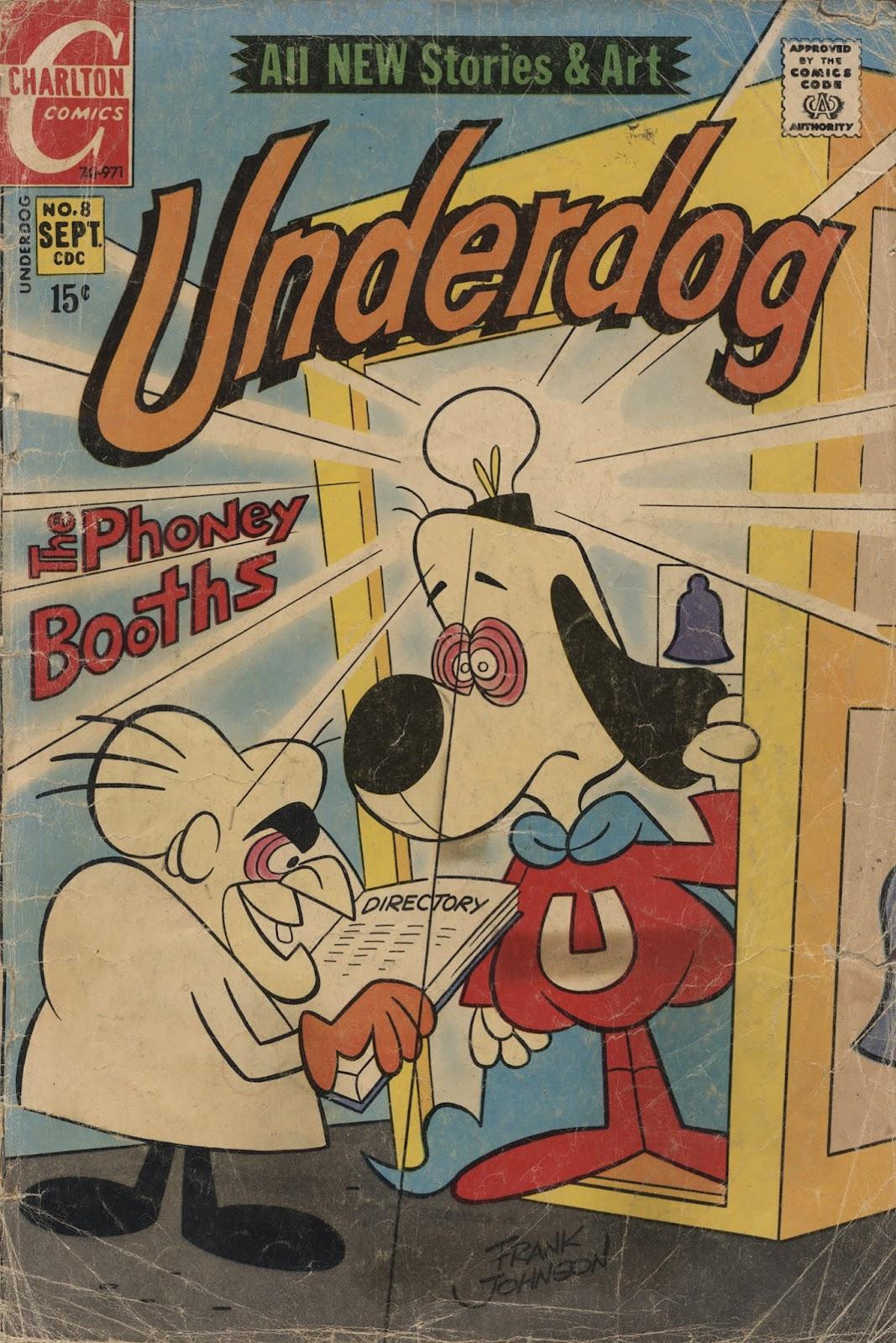 Underdog (1970) issue 8 - Page 1