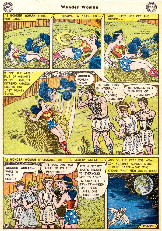 Read online Wonder Woman (1942) comic -  Issue #91 - 12