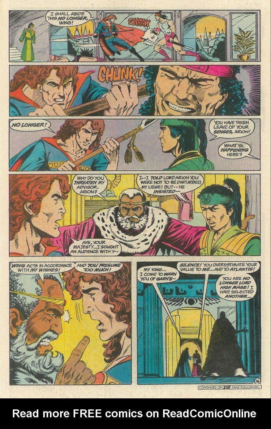 Read online Arion, Lord of Atlantis comic -  Issue #23 - 17