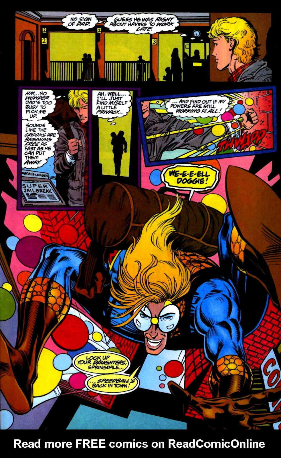 The New Warriors Issue #66 #70 - English 4