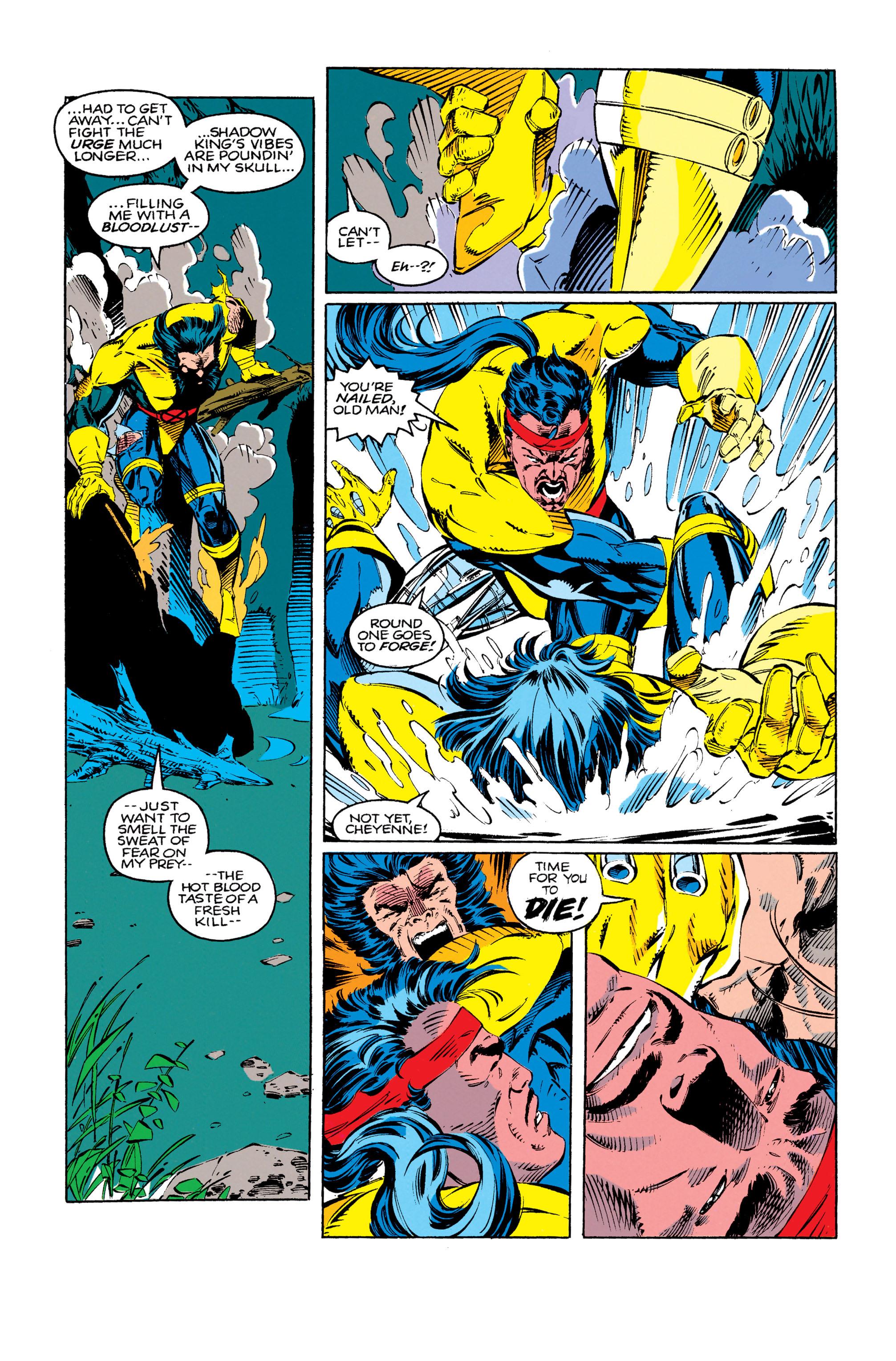 Read online Uncanny X-Men (1963) comic -  Issue #279 - 17