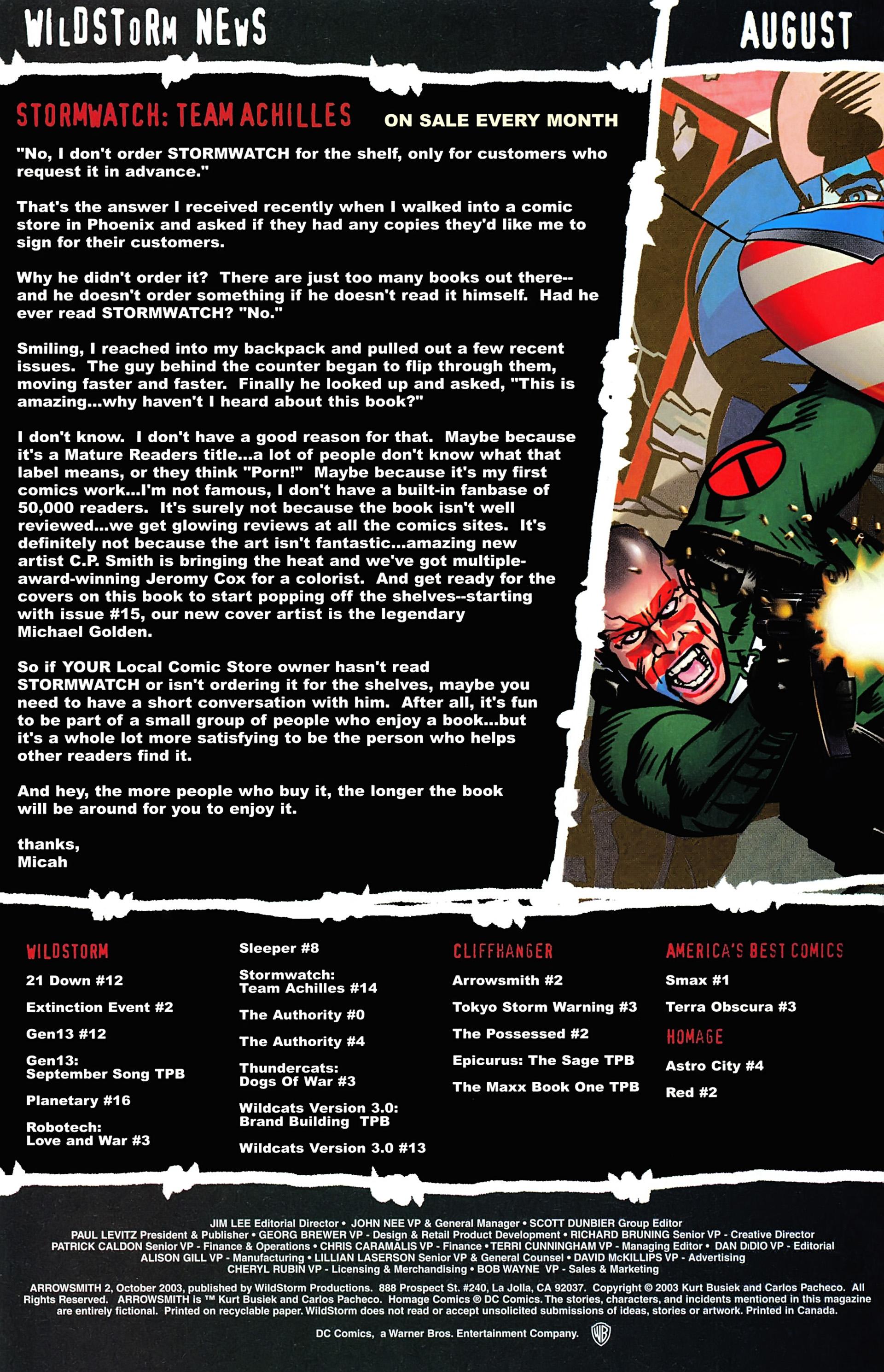 Read online Arrowsmith comic -  Issue #2 - 23