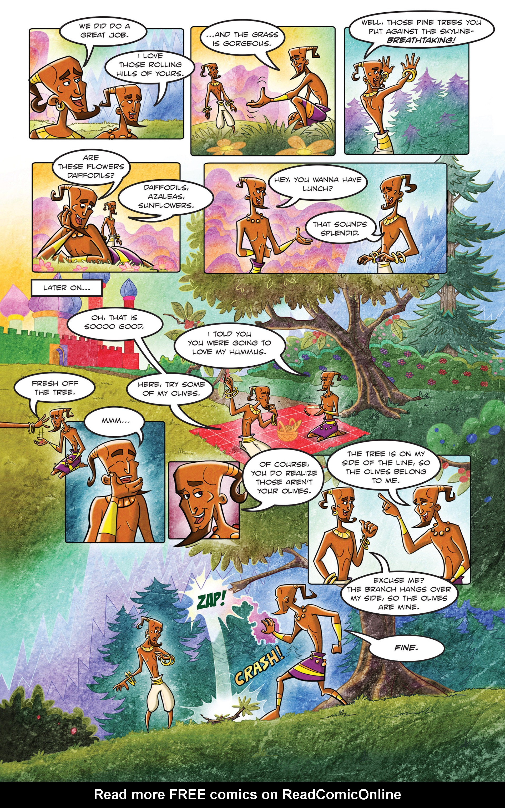 Read online 1001 Nights comic -  Issue #3 - 16