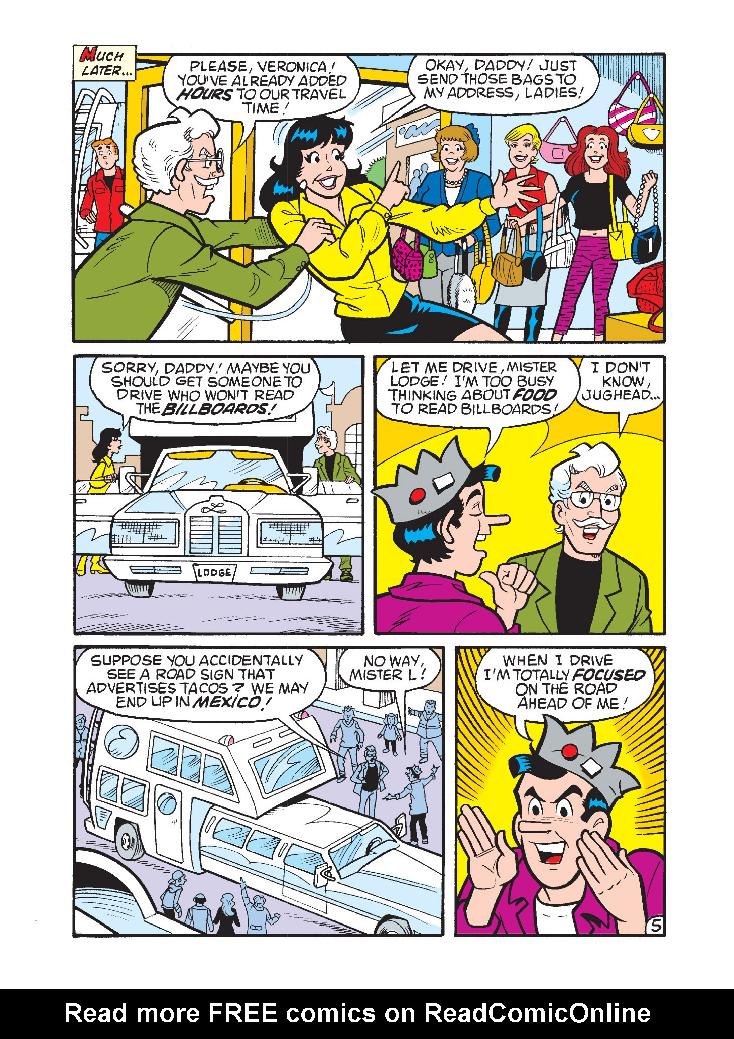 Read online Archie's Funhouse Double Digest comic -  Issue #3 - 12