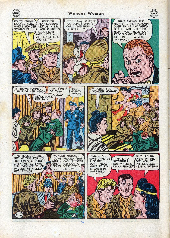 Read online Wonder Woman (1942) comic -  Issue #17 - 50