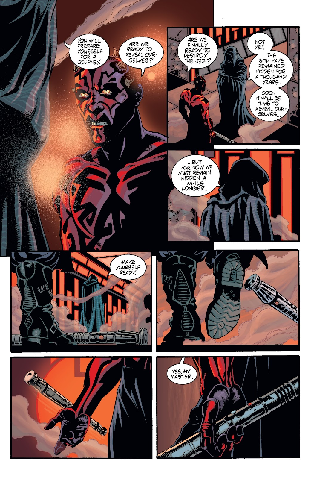 Read online Star Wars Legends: Rise of the Sith - Epic Collection comic -  Issue # TPB 2 (Part 2) - 50