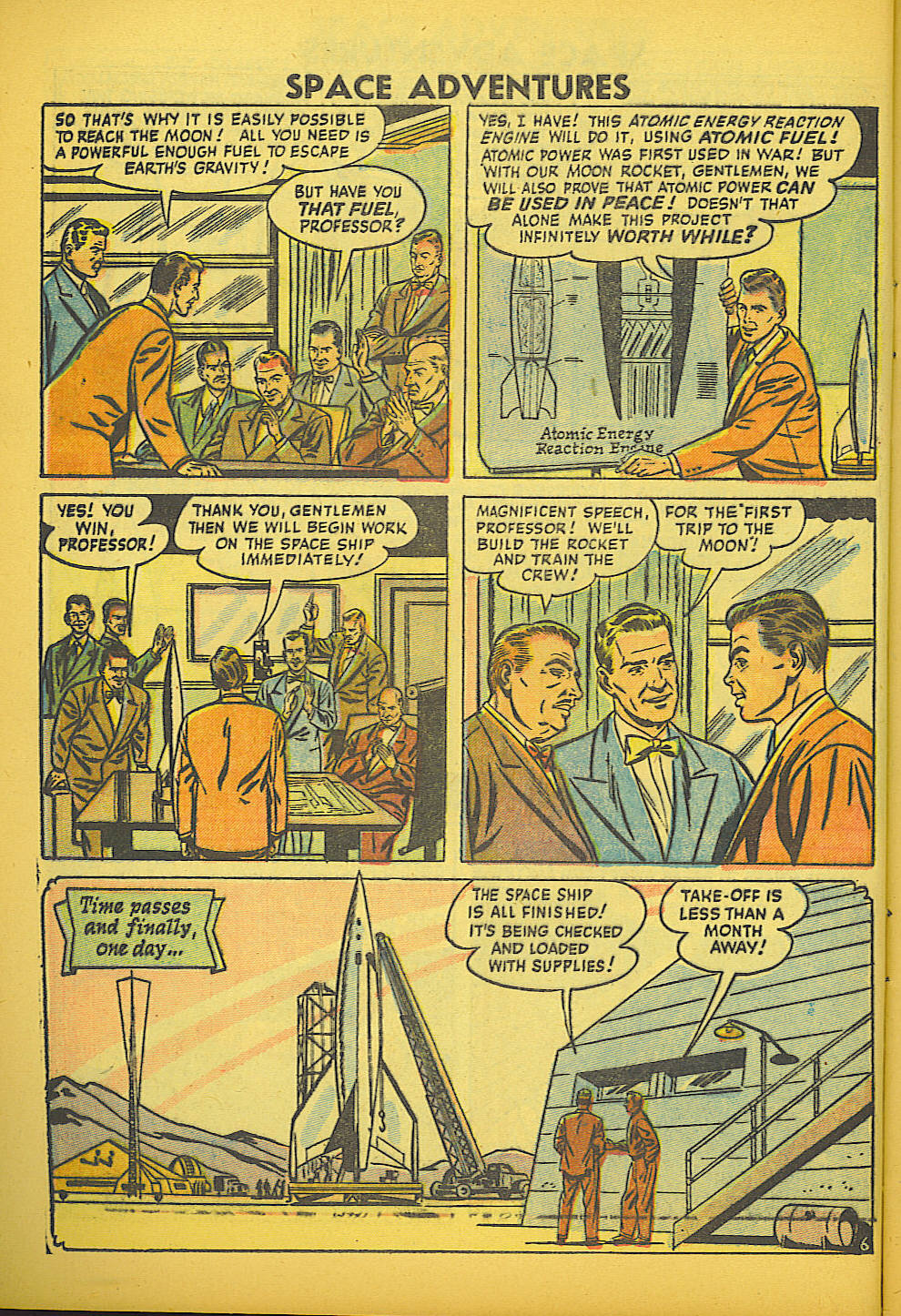 Space Adventures (1952) issue 20 - Page 8