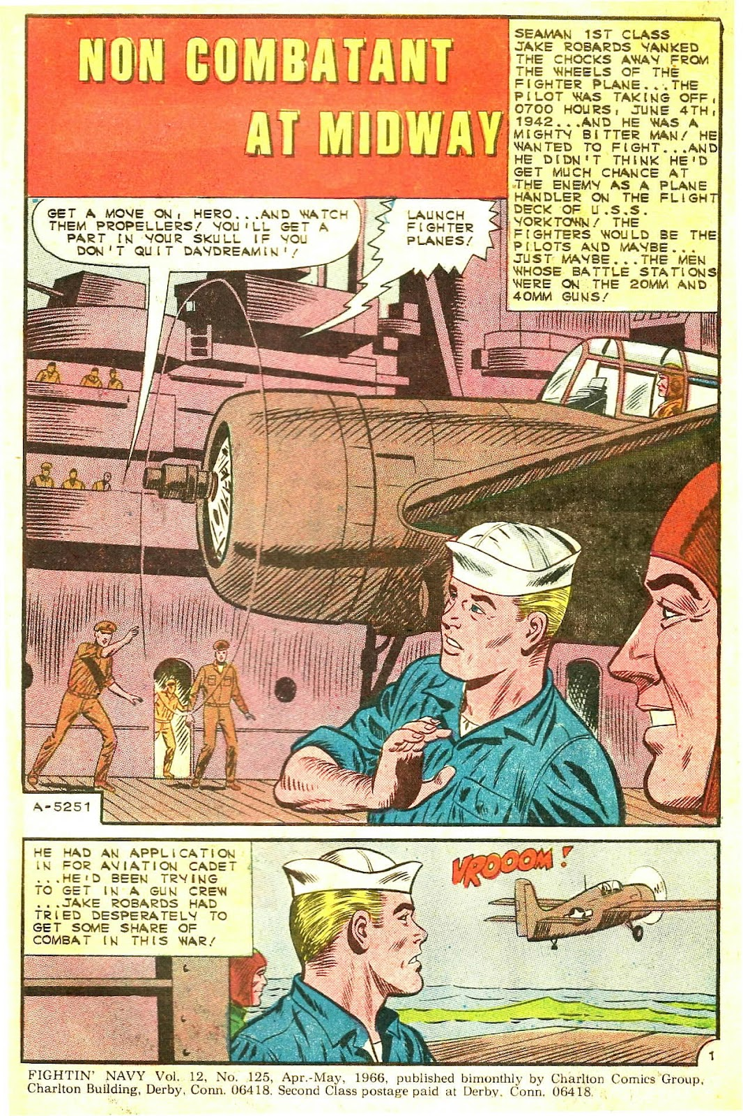 Read online Fightin' Navy comic -  Issue #125 - 3