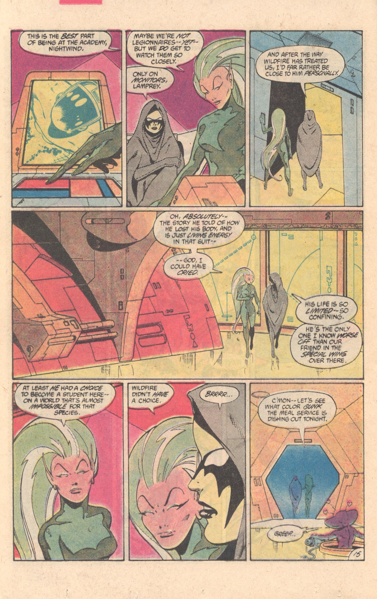 Legion of Super-Heroes (1980) 304 Page 15