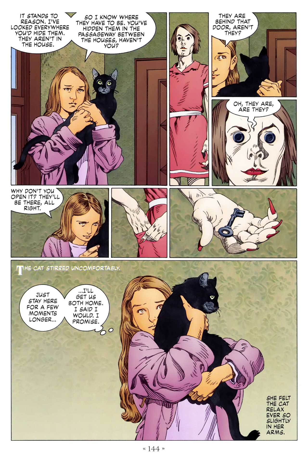 Read online Coraline comic -  Issue #1 - 150