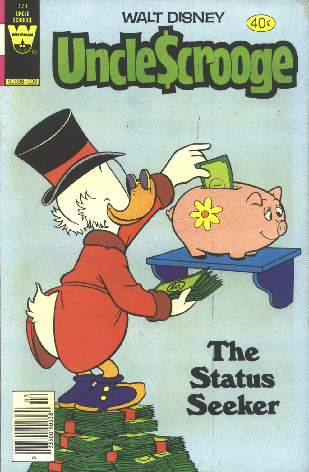 Read online Uncle Scrooge (1953) comic -  Issue #174 - 1