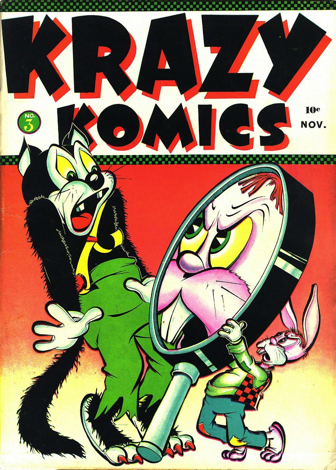 Krazy Komics issue 3 - Page 1
