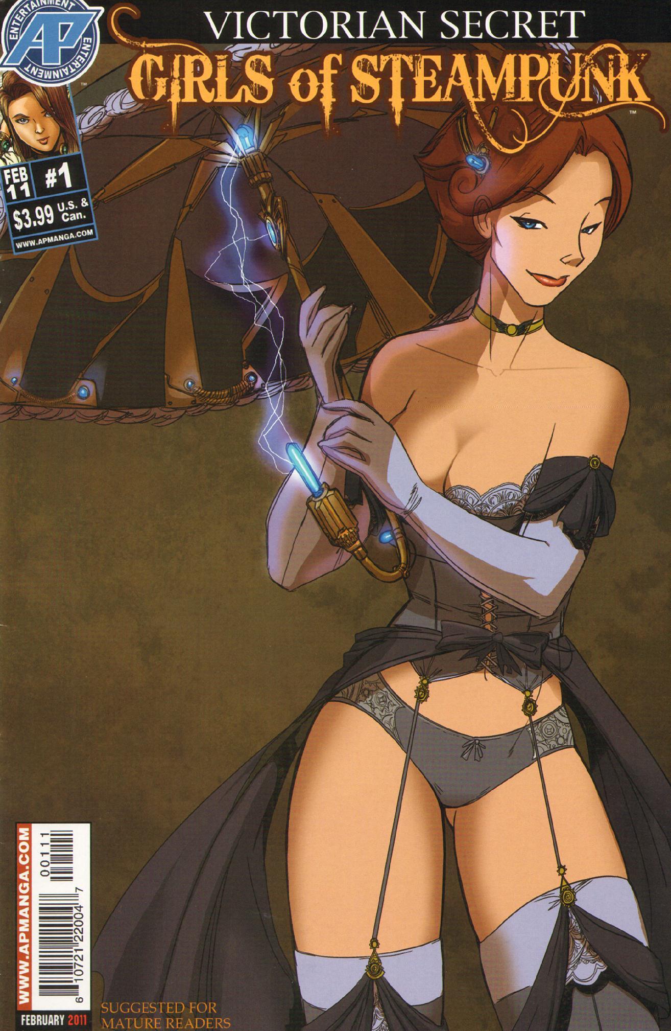 Victorian Secret: Girls of Steampunk 1 Page 1