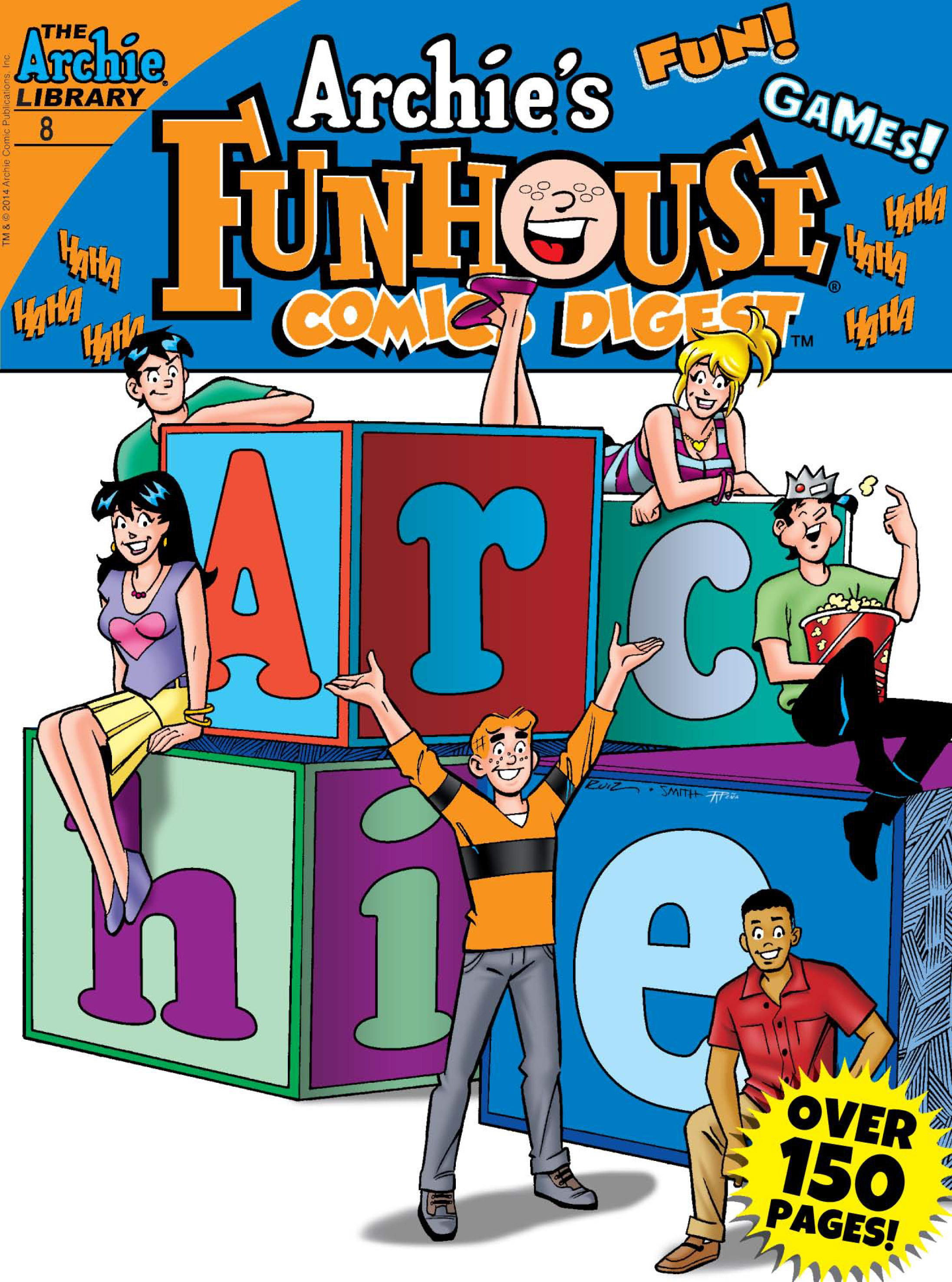 Read online Archie's Funhouse Double Digest comic -  Issue #8 - 1