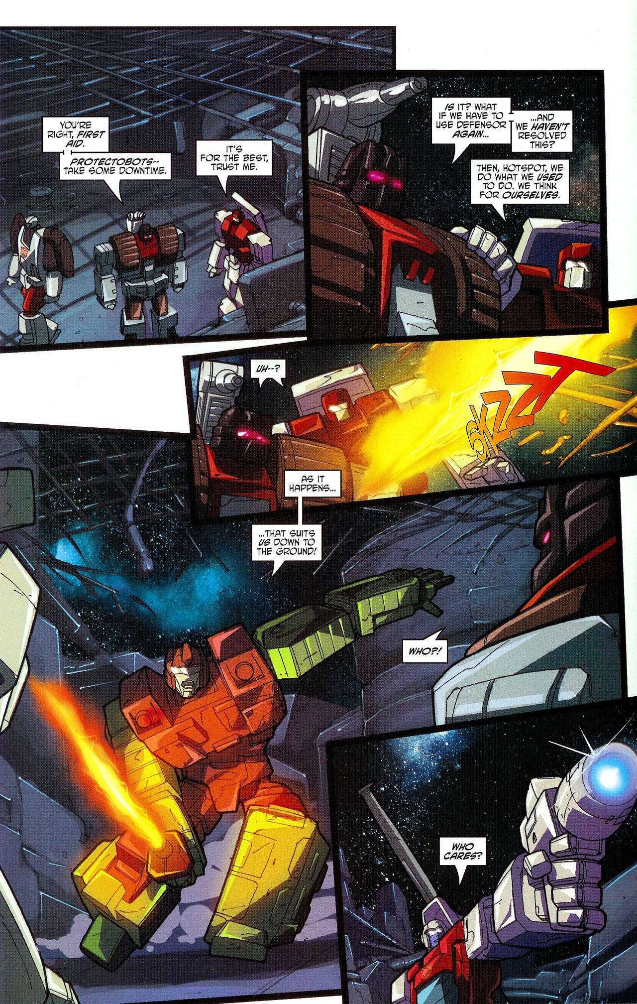 """Read online Transformers War Within: """"The Dark Ages"""" comic -  Issue #5 - 12"""