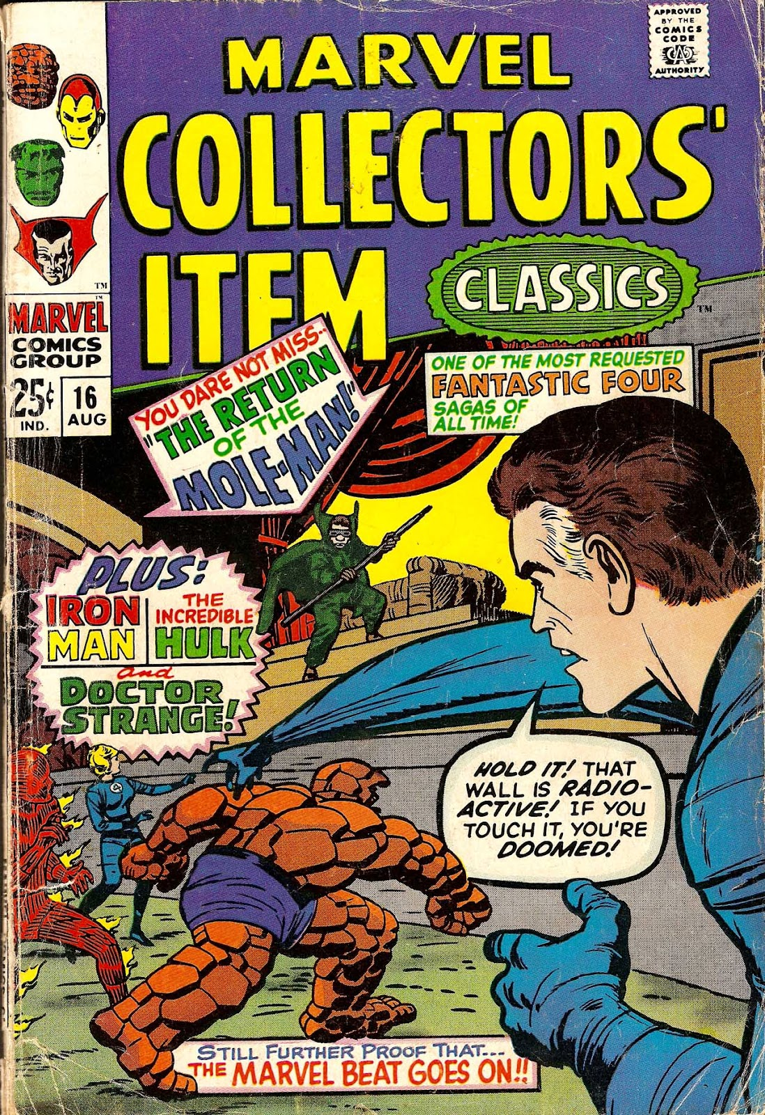 Marvel Collectors Item Classics issue 16 - Page 1