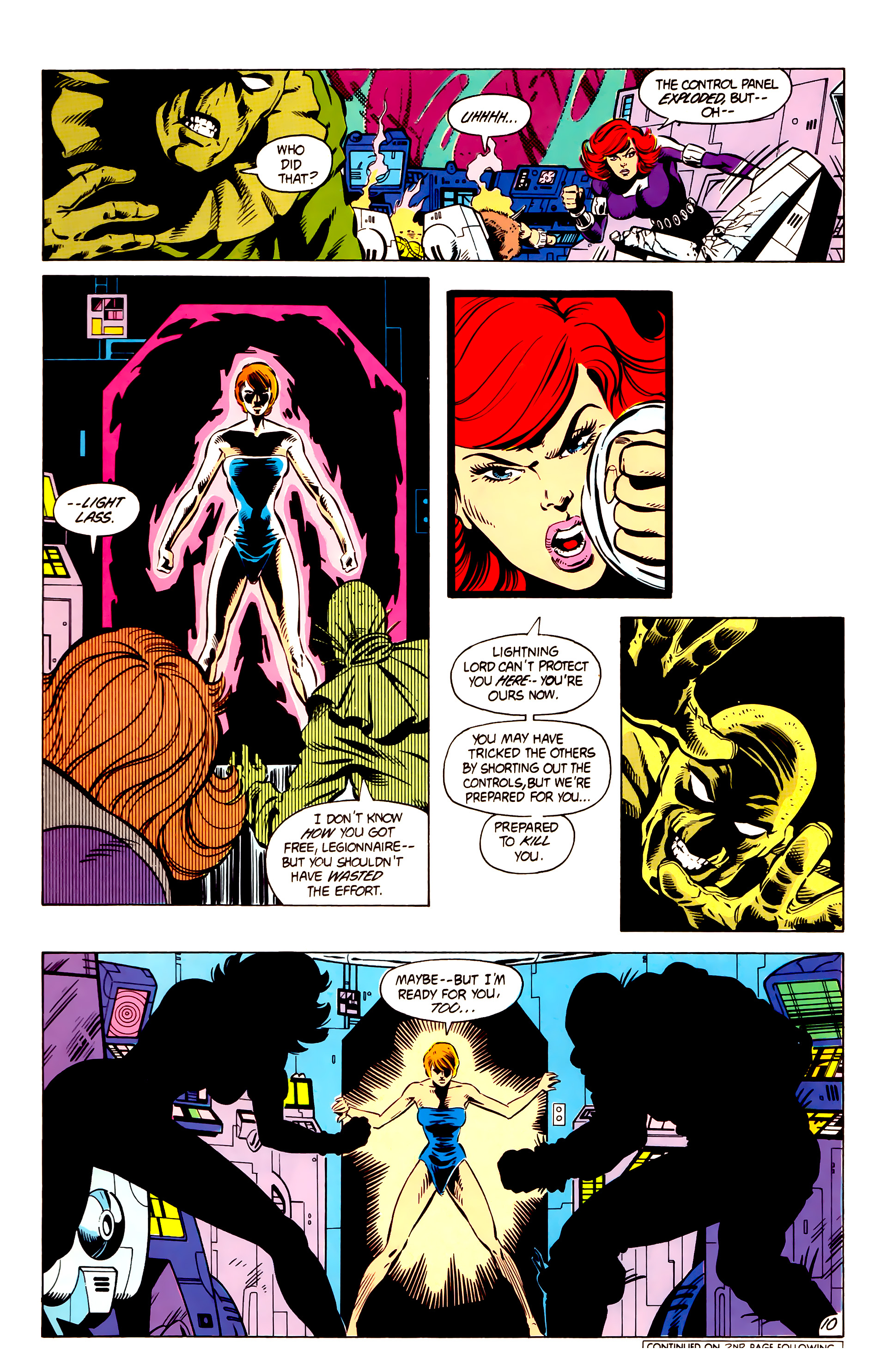 Legion of Super-Heroes (1984) 4 Page 11