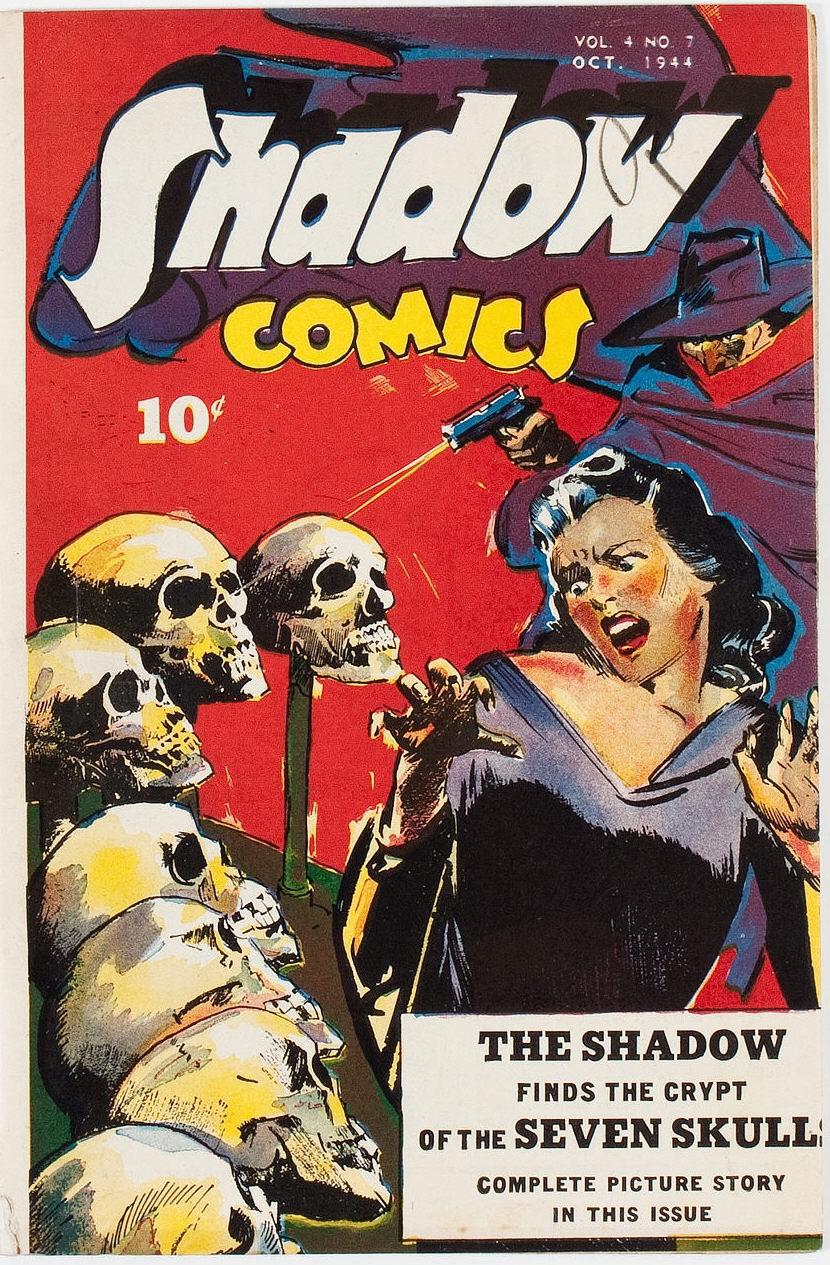 Read online Shadow Comics comic -  Issue #43 - 1