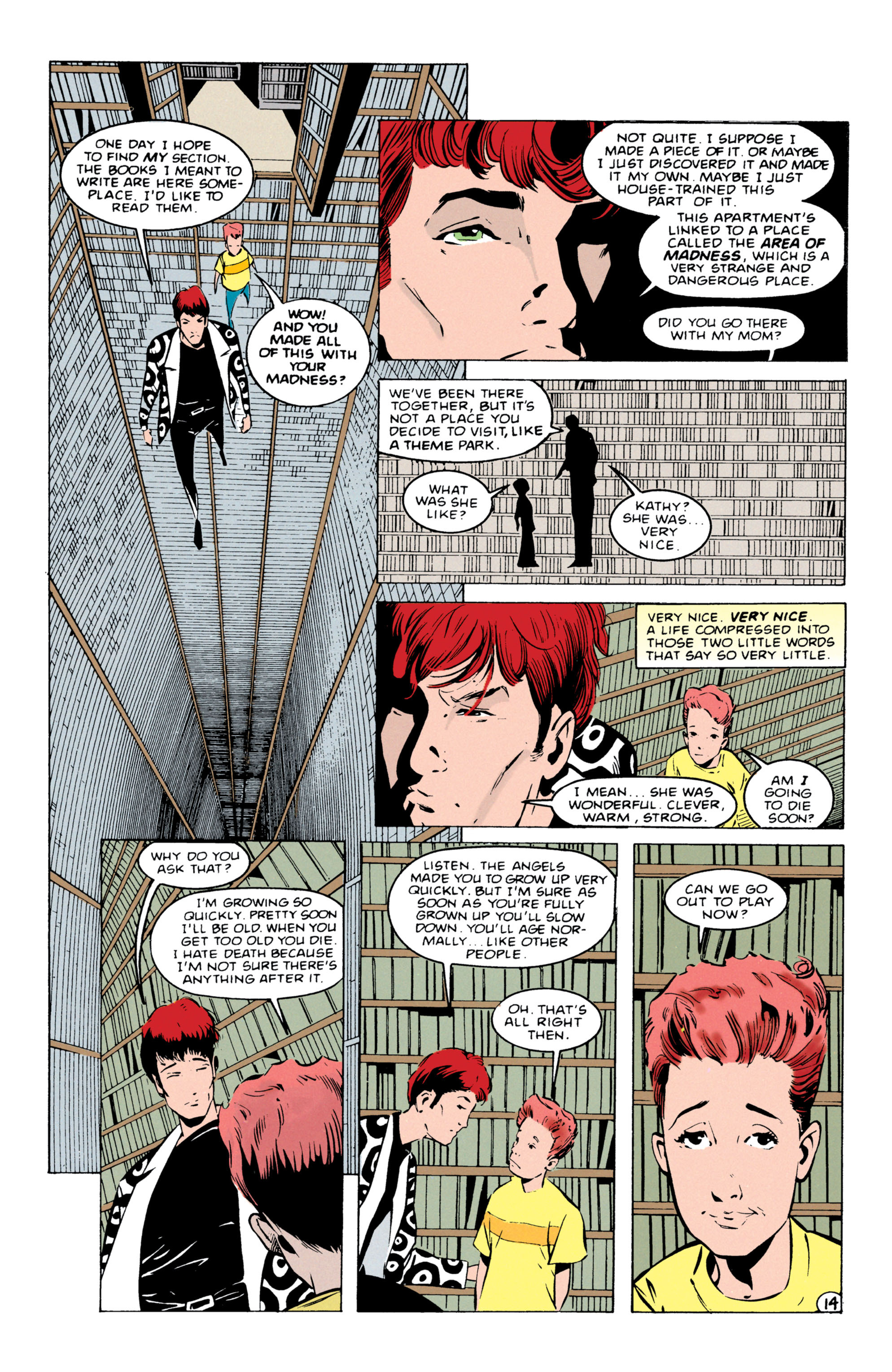 Read online Shade, the Changing Man comic -  Issue #55 - 15
