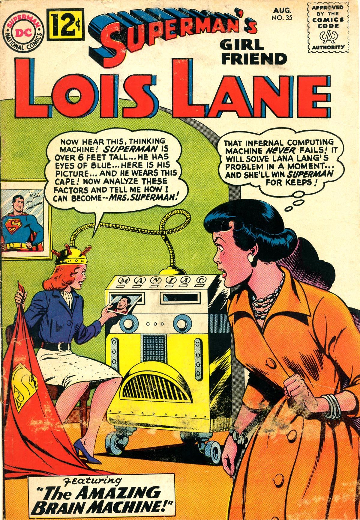 Supermans Girl Friend, Lois Lane 35 Page 1