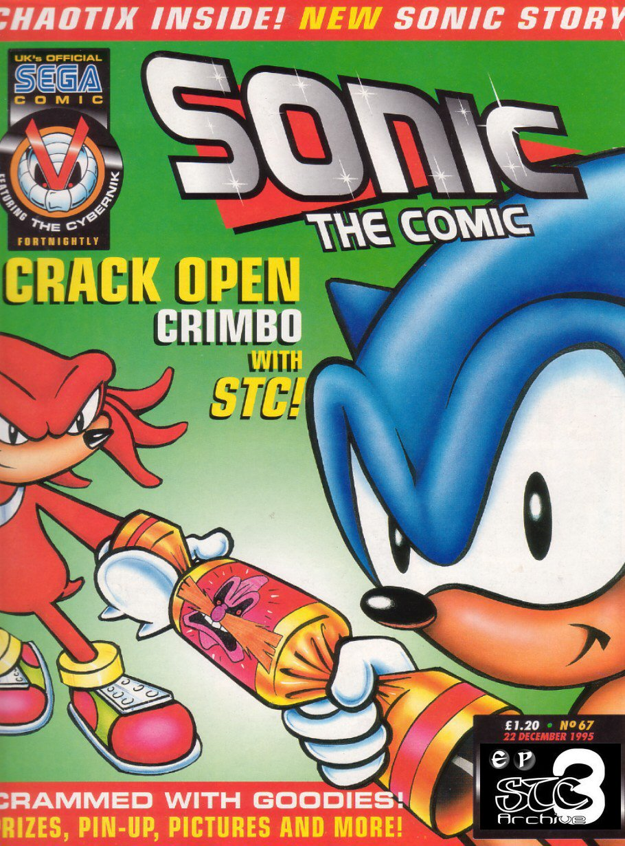 Read online Sonic the Comic comic -  Issue #67 - 1