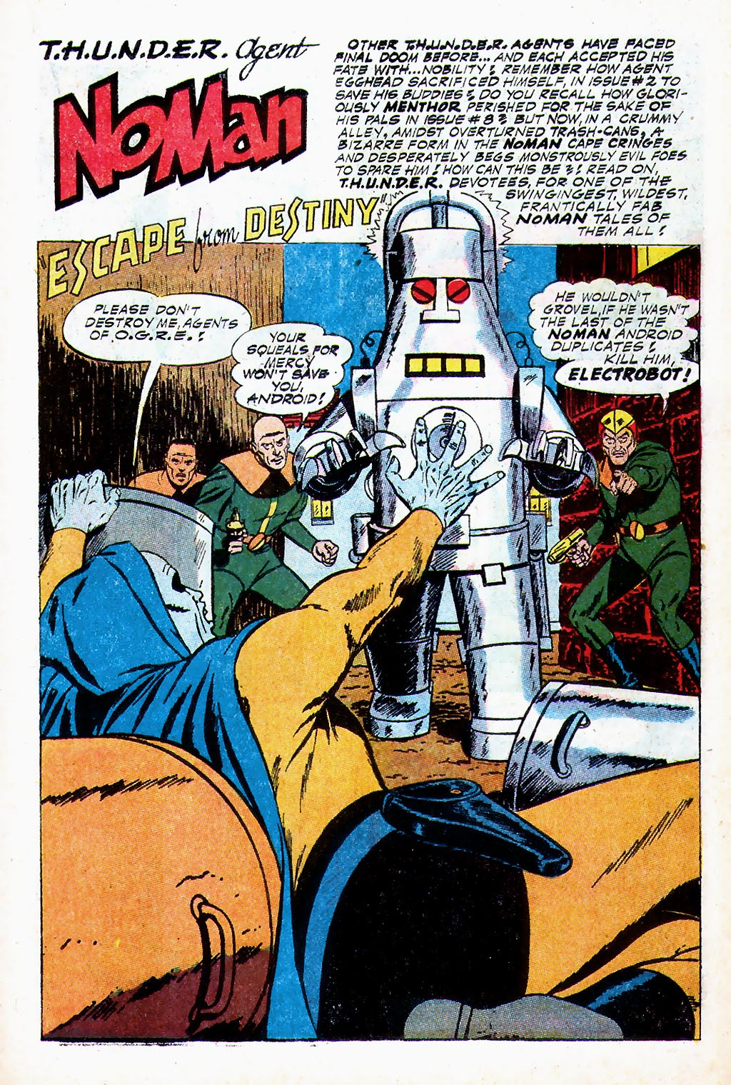 T.H.U.N.D.E.R. Agents (1965) issue 13 - Page 12
