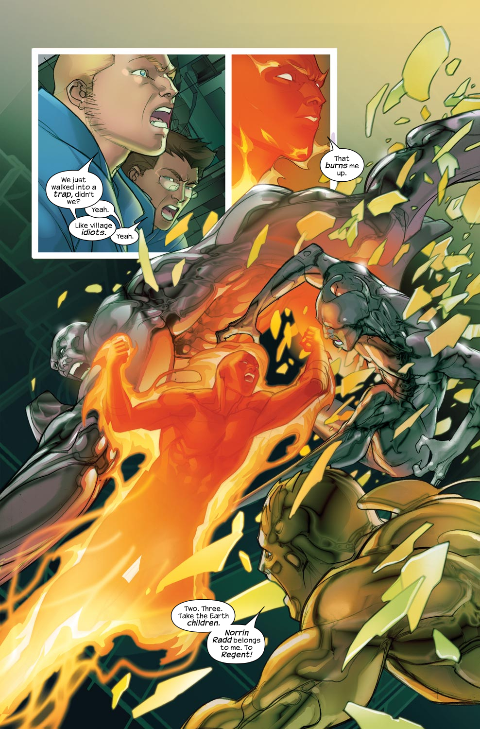 Read online Ultimate Fantastic Four (2004) comic -  Issue #46 - 8