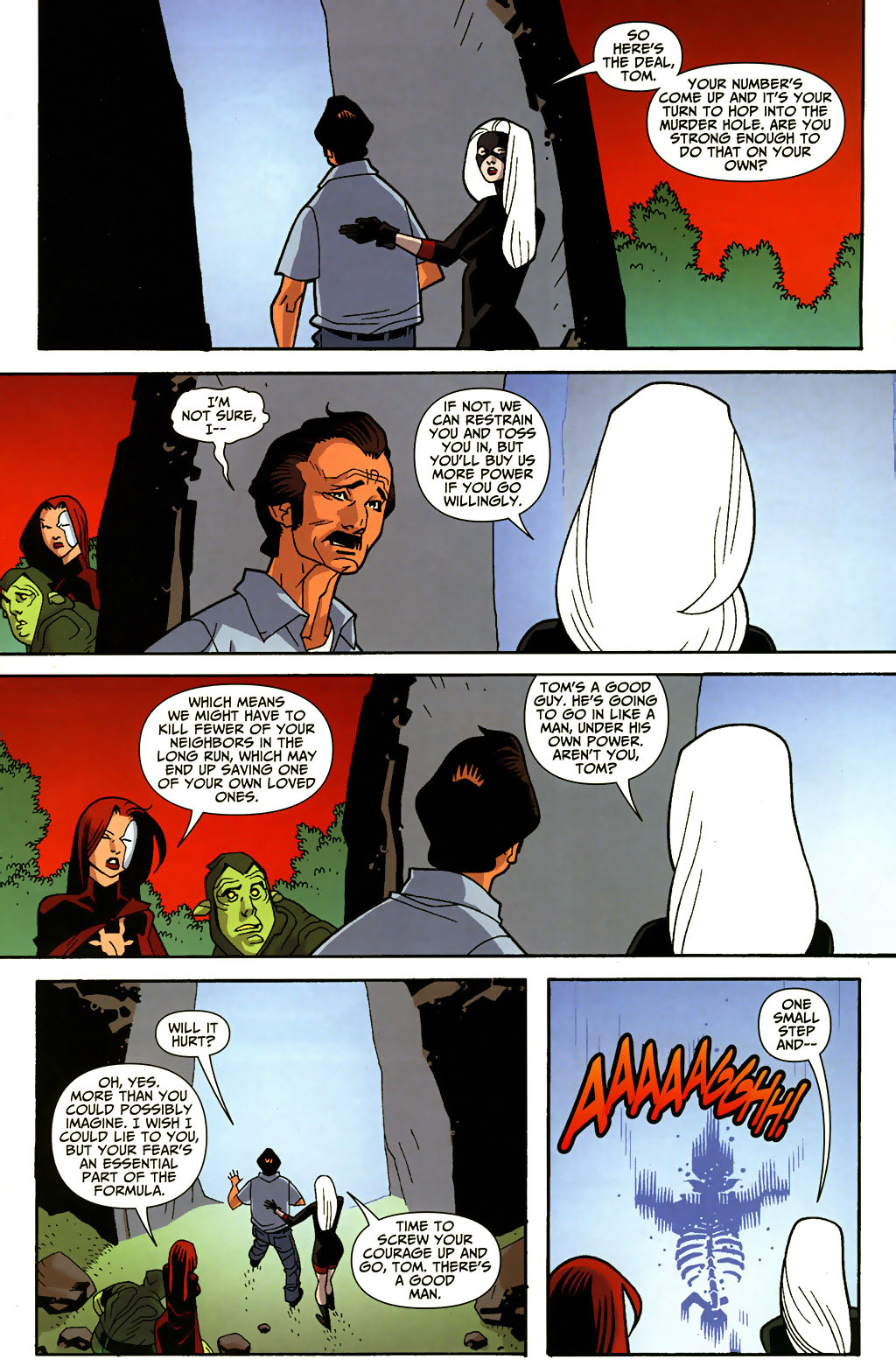 Read online Shadowpact comic -  Issue #3 - 7