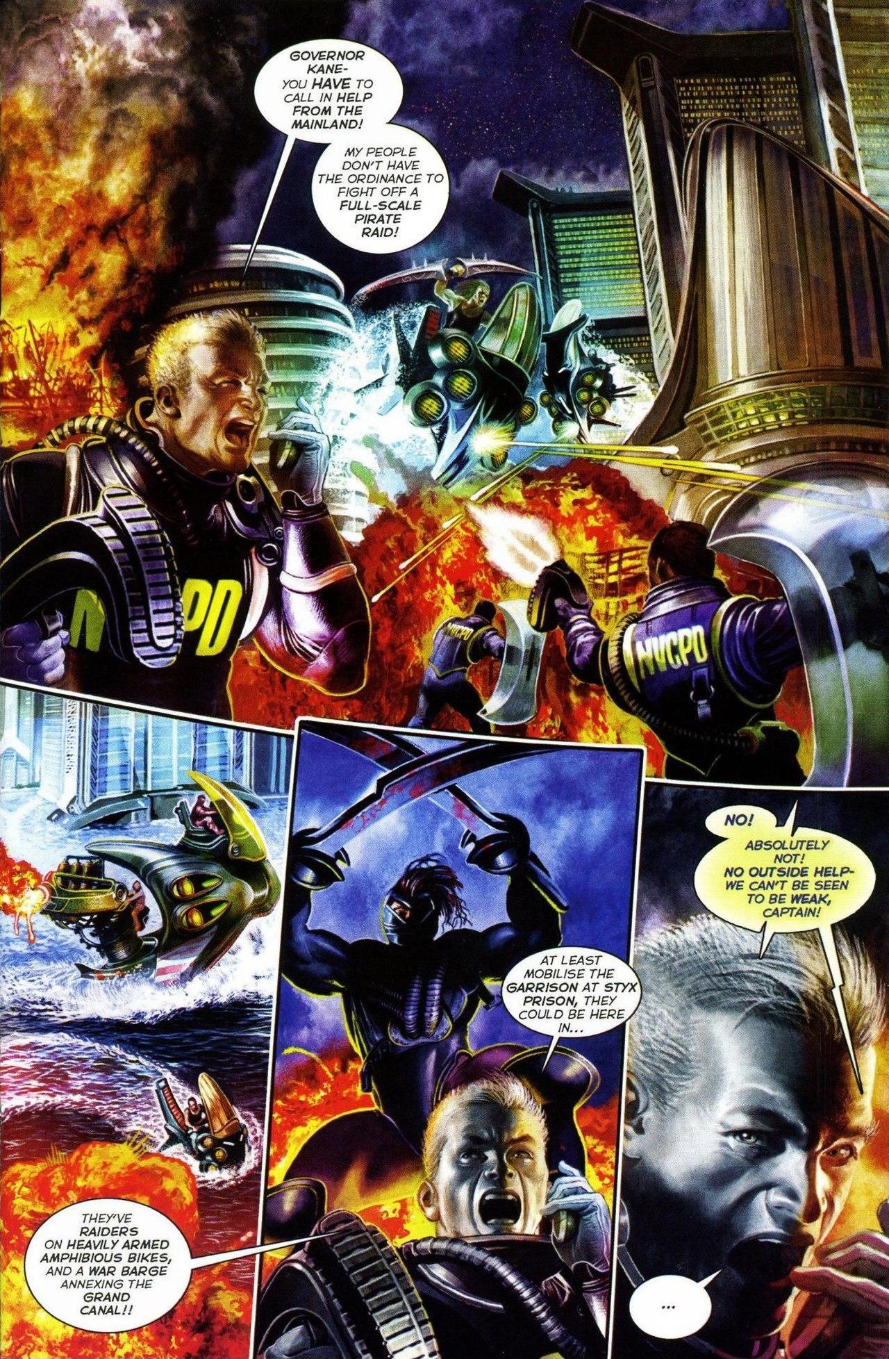 Read online Shark-Man comic -  Issue #3 - 3